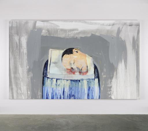 Brian MAGUIRE - Peinture - Nature Morte No. 10
