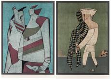 Mikhail CHEMIAKIN - Print-Multiple - A pair of lithographs