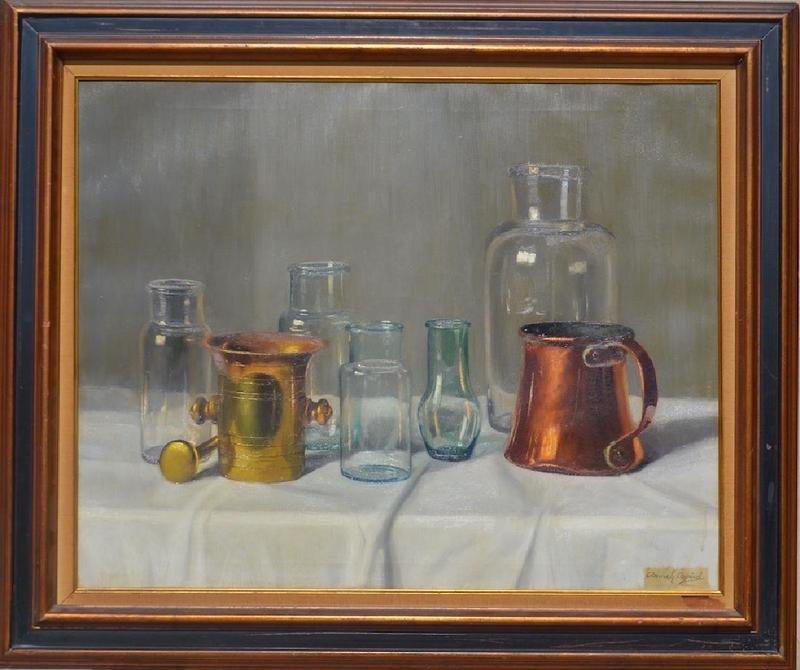 Arpad ROMEK - Painting - Still-life