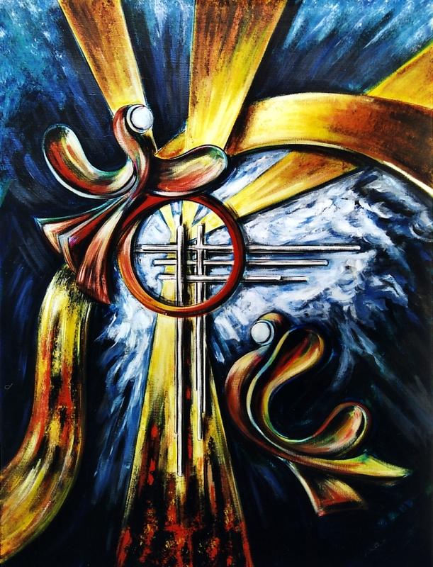 Didier ANGELS - Peinture - La résurrection