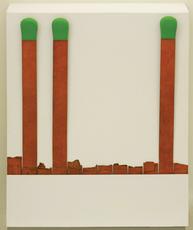 Raymond HAINS - Sculpture-Volume - Pochette d'allumette