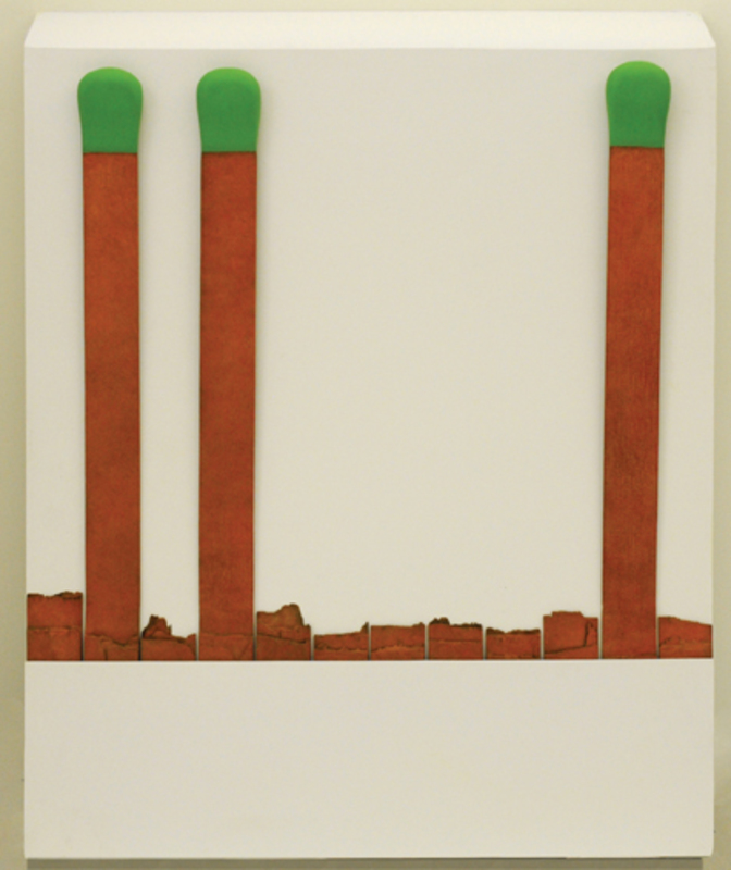 Raymond HAINS - Escultura - Pochette d'allumette