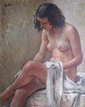 Georges Émile CAPON - Painting - Femme à la toilette
