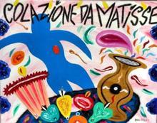 Bruno DONZELLI - Painting - Colazione da Matisse