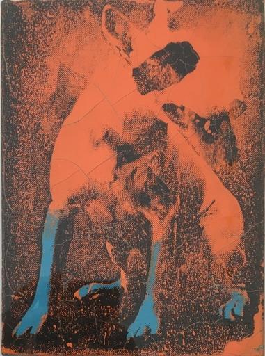 AURÈLE - Pintura - Lost dog