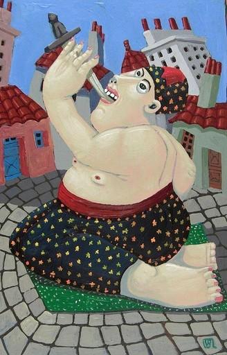 Valérie BLANCHARD - Pintura - Le fakir