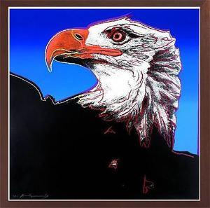 Andy WARHOL - Print-Multiple - Bald Eagle (F&S.II.296)