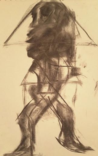 PASTURO - Drawing-Watercolor - Untitled