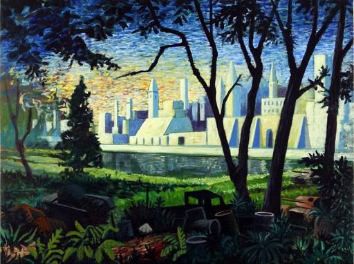 Nicola Felice TORCOLI - Gemälde - La città d'oro