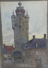 Édouard CORTES (1882-1969) - Bergues, Flandres