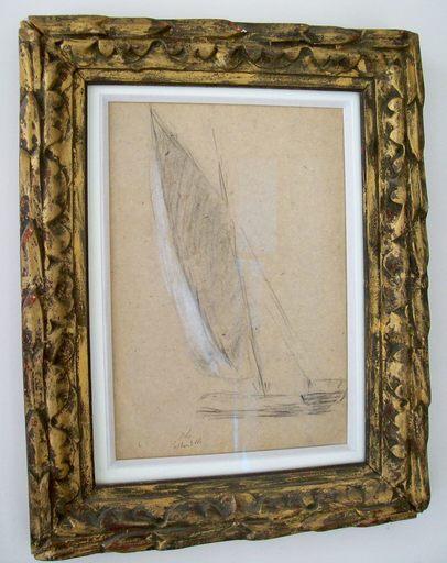 Albert Marie LEBOURG - Drawing-Watercolor - La  Bouille