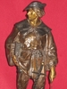 Emile Louis PICAULT - Escultura - Escholier du Moyen-Age