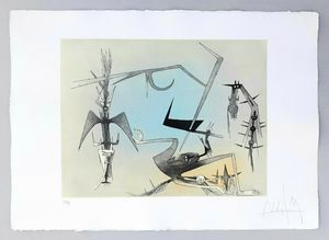 Wifredo LAM - Estampe-Multiple - Visible invisible