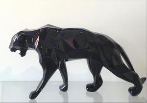 "Richard ORLINSKI - Sculpture-Volume - ""BLUE BLACK"""