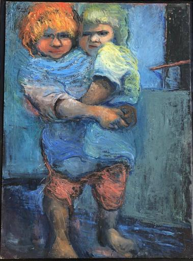 Moshe PROPPES - Painting - Sisters