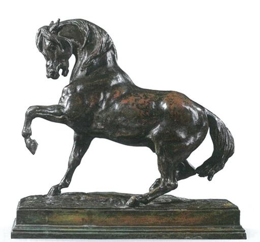 Antoine Louis BARYE - Escultura - Cheval Turc No. 2