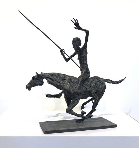 Pierre MOUZAT - Escultura - Les vieux fous