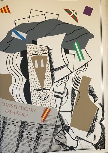 EQUIPO CRÓNICA - 版画 - Aniversario constitucion españols