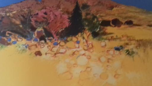 Jean-Claude ALLENBACH - 版画 - Paysage de Provence.
