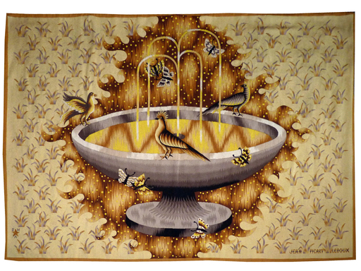 Jean PICART LE DOUX - Tapestry - la vasque