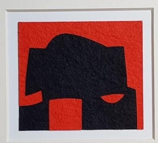 Alberto BURRI - Painting - Cellotex