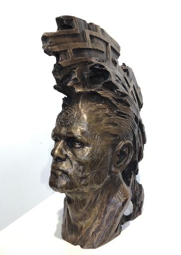Patrick BERTHAUD - Sculpture-Volume - Le premier homme