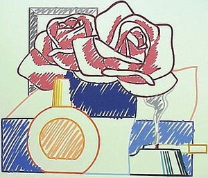 Tom WESSELMANN, Scribble Version of Still Life