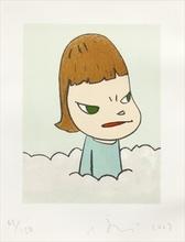Yoshitomo NARA - Estampe-Multiple - In The Clouds