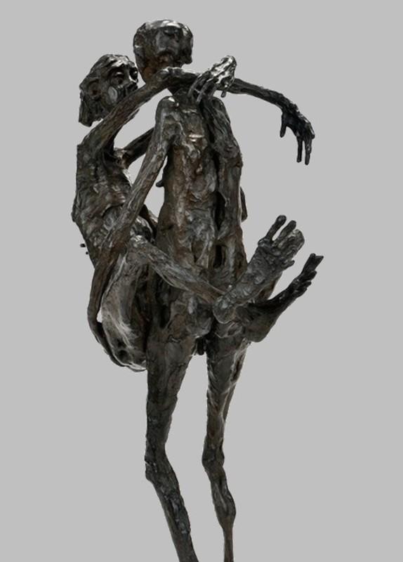Pierre MOUZAT - Sculpture-Volume - Juste une question d'amour