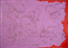 Giulio TURCATO - Peinture - Emblematico viola