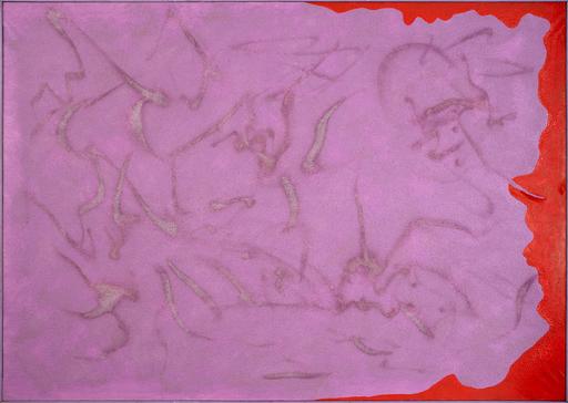 Giulio TURCATO - Pintura - Emblematico viola