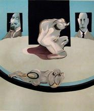 Francis BACON - Estampe-Multiple - Metropolitan I