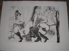 Pablo PICASSO (1881-1973) - DEGAS paie et s en va Les filles ne sont pas tendre