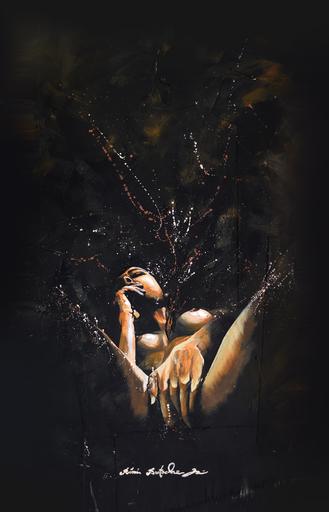 Rémi BERTOCHE - Painting - Plaisir perso