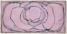 Joan HERNANDEZ PIJUAN - Peinture - Rosa horizontal