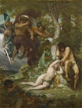 Alexandre CABANEL - Painting - LE PARADIS PERDU