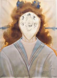 Salvador DALI - Grabado - Alchimie des Philosophes L'Immortalite