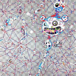 Takashi MURAKAMI - Grabado - Chaos: primordial life
