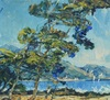 André SUZANNE - Painting - Marine Menton