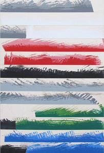 Daniel GÖTTIN - Painting - 022 o.T., 2017 (Abstract painting)