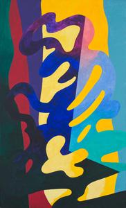 Guy DE ROUGEMONT - Pittura - Untitled