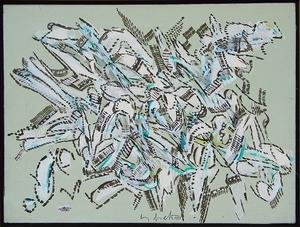 Sergio DANGELO - Painting - Il groviglio d'estate