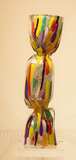 Laurence JENKELL - Sculpture-Volume - Wrapping Bonbon Collector peint transparent
