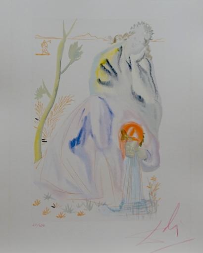 Salvador DALI - Druckgrafik-Multiple - Divine Comedy Purgatory Canto 22