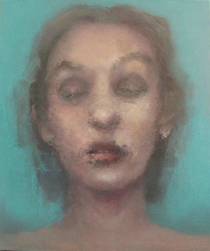Hellen HALFTERMEYER - Painting - BlueMm