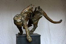 Jean François GAMBINO - Sculpture-Volume - Puma