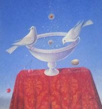 Claudio CARGIOLLI - Pintura - Atto d amore
