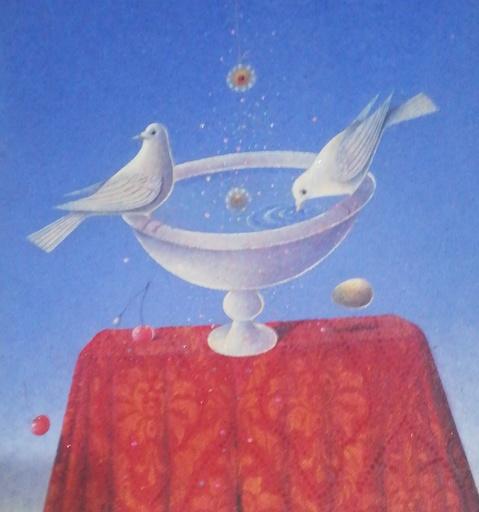 Claudio CARGIOLLI - Pittura - Atto d amore