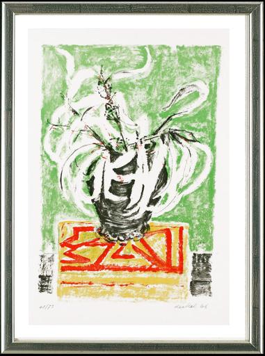 埃里希·黑克尔 - 版画 - Eukalyptusblätter