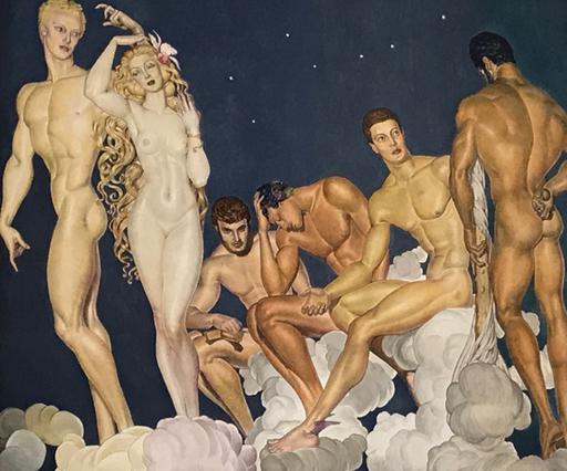 Pedro CENTENO VALLENILLA - Pittura - Dioses del Olimpo
